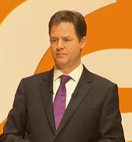Nick Clegg at NewcastleGateshead conference 2012